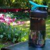 Спортивна пляшка-шейкер BlenderBottle SportMixer 20oz/590ml Black/Teal (ORIGINAL) фото 6