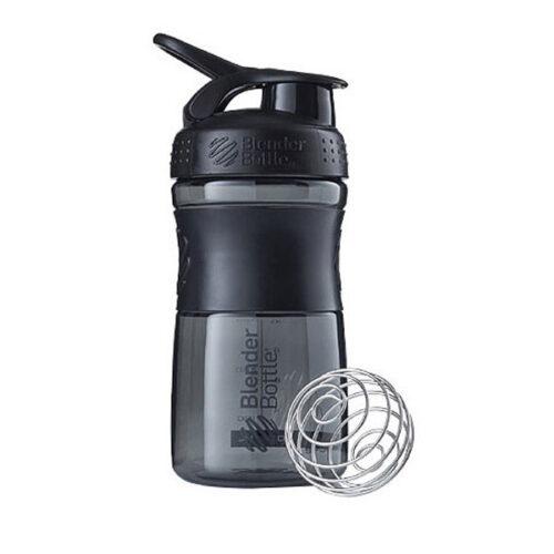 Спортивна пляшка-шейкер BlenderBottle SportMixer 20oz/590ml Black (ORIGINAL) фото 1
