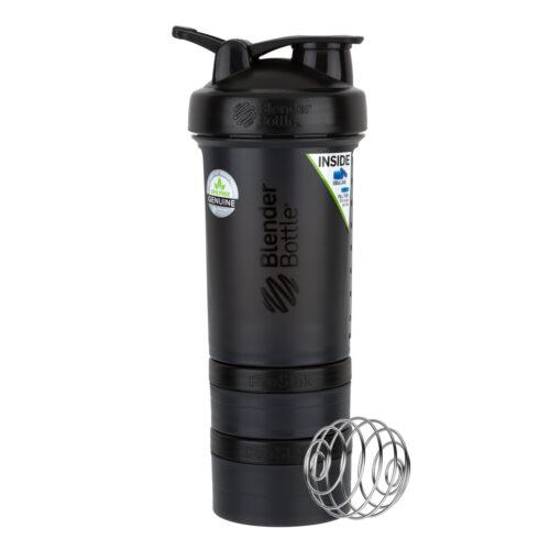 Шейкер спортивний BlenderBottle ProStak 22oz/650ml з 2-ма контейнерами Black (ORIGINAL) фото 3