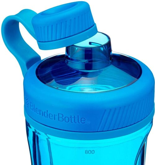 Спортивная бутылка-шейкер BlenderBottle Radian Tritan 32oz/940ml Cyan (ORIGINAL) фото 2