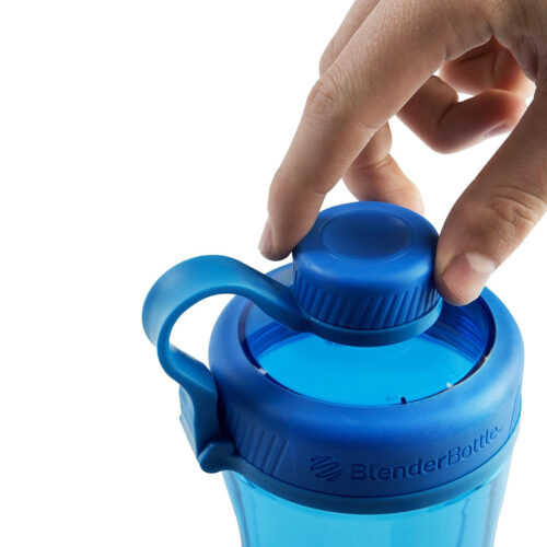 Спортивная бутылка-шейкер BlenderBottle Radian Tritan 32oz/940ml Cyan (ORIGINAL) фото 3