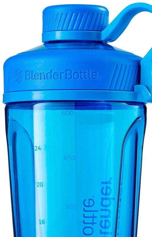 Спортивная бутылка-шейкер BlenderBottle Radian Tritan 32oz/940ml Cyan (ORIGINAL) фото 5