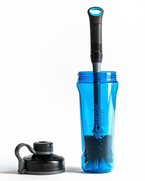 Спортивная бутылка-шейкер BlenderBottle Radian Tritan 32oz/940ml Cyan (ORIGINAL) фото 7