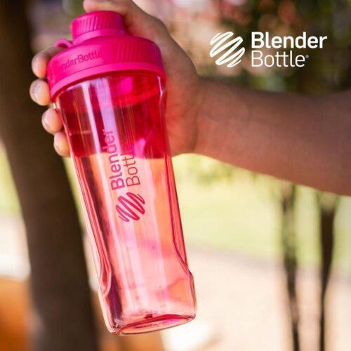 Спортивная бутылка-шейкер BlenderBottle Radian Tritan 32oz/940ml Pink (ORIGINAL) фото 3
