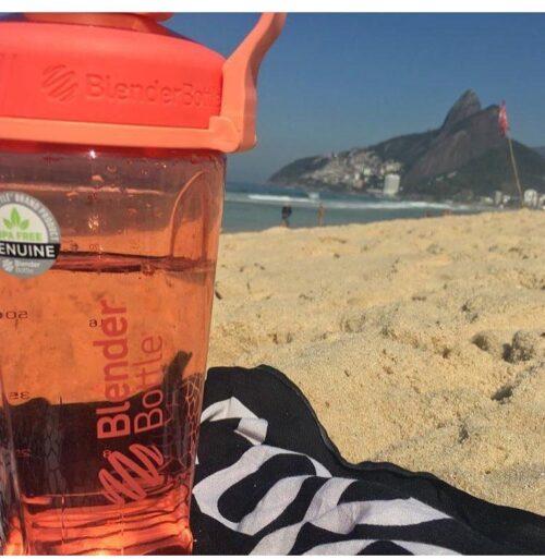 Спортивная бутылка-шейкер BlenderBottle Radian Tritan 32oz/940ml Pink (ORIGINAL) фото 4