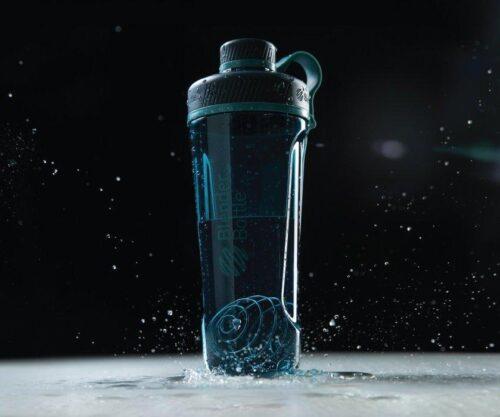 Спортивная бутылка-шейкер BlenderBottle Radian Tritan 32oz/940ml Sea (ORIGINAL) фото 2