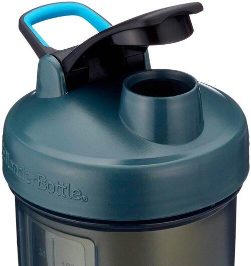 Шейкер спортивний BlenderBottle Pro45 1270ml Grey/Blue (ORIGINAL) фото 2
