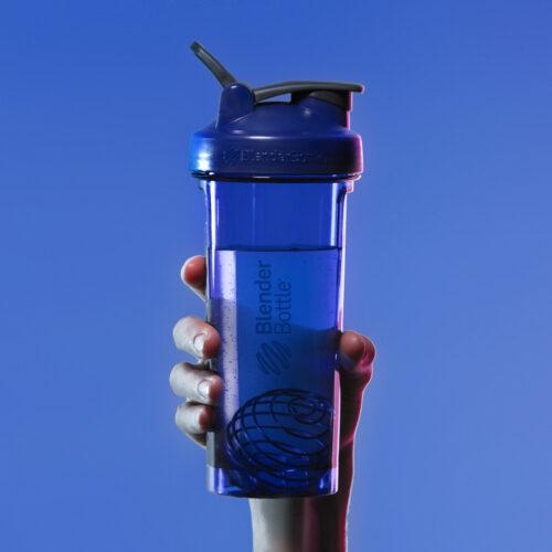 Спортивная бутылка-шейкер BlenderBottle Pro32 Tritan 940ml Cyan (ORIGINAL) фото 2
