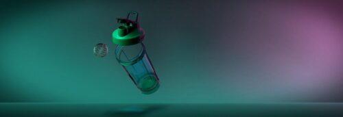 Спортивная бутылка-шейкер BlenderBottle Pro32 Tritan 940ml Green (ORIGINAL) фото 4