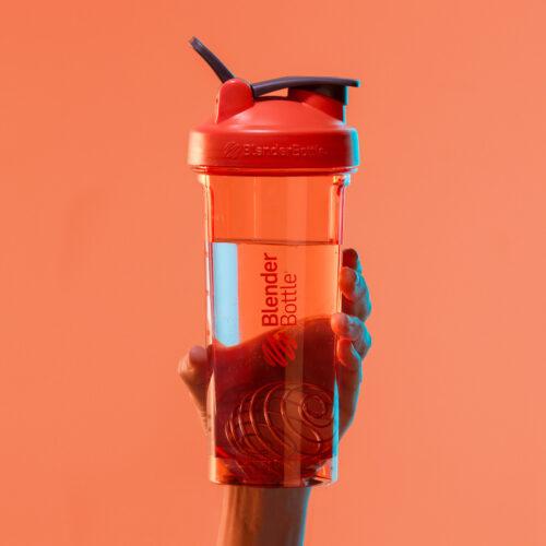 Спортивная бутылка-шейкер BlenderBottle Pro32 Tritan 940ml Red (ORIGINAL) фото 2