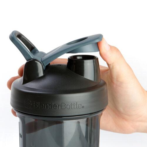 Спортивна пляшка-шейкер BlenderBottle Pro28 Tritan 820ml Black (ORIGINAL) фото 2