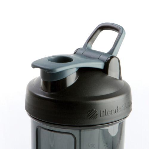 Спортивна пляшка-шейкер BlenderBottle Pro24 Tritan 710ml Black (ORIGINAL) фото 3