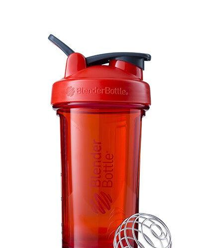 Спортивна пляшка-шейкер BlenderBottle Pro24 Tritan 710ml Red (ORIGINAL) фото 1