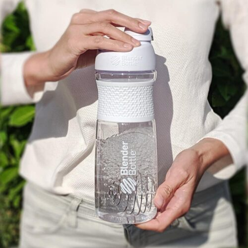 Спортивна пляшка-шейкер BlenderBottle SportMixer Twist 28oz/820ml White (ORIGINAL) фото 6