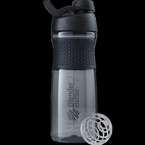 Спортивна пляшка-шейкер BlenderBottle SportMixer Twist 28oz/820ml Black (ORIGINAL) фото 1