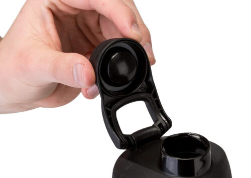 Спортивна пляшка-шейкер BlenderBottle SportMixer Twist 28oz/820ml Black (ORIGINAL) фото 3