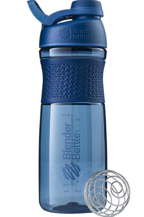 Спортивна пляшка-шейкер BlenderBottle SportMixer Twist 28oz/820ml Navy (ORIGINAL) фото 1