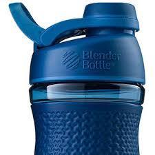 Спортивна пляшка-шейкер BlenderBottle SportMixer Twist 28oz/820ml Navy (ORIGINAL) фото 2