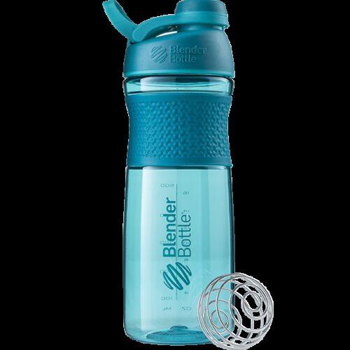 Спортивна пляшка-шейкер BlenderBottle SportMixer Twist 28oz/820ml Teal (ORIGINAL) фото 1