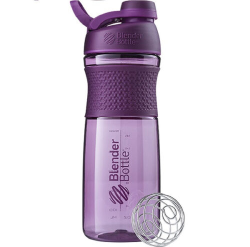 Спортивна пляшка-шейкер BlenderBottle SportMixer Twist 28oz/820ml Plum (ORIGINAL) фото 1