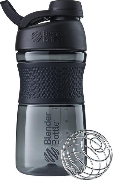 Спортивна пляшка-шейкер BlenderBottle SportMixer Twist 20oz/590ml Black (ORIGINAL) фото 1