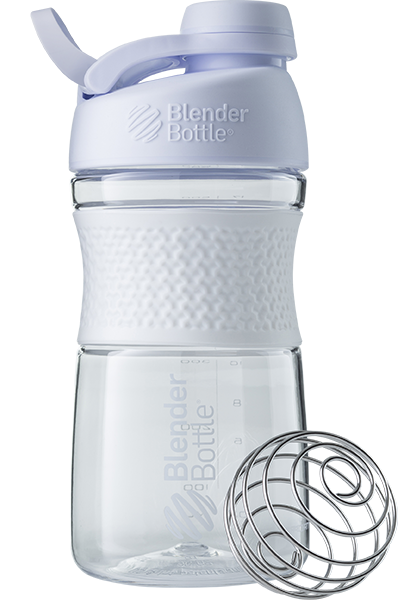 Спортивна пляшка-шейкер BlenderBottle SportMixer Twist 20oz/590ml White (ORIGINAL) фото 1