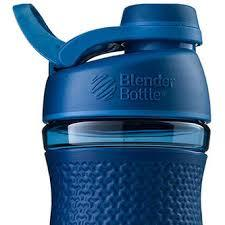 Спортивна пляшка-шейкер BlenderBottle SportMixer Twist 20oz/590ml Navy (ORIGINAL) фото 2