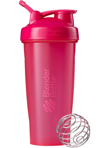 Шейкер спортивный BlenderBottle Classic Loop 28oz/820ml Pink FL (ORIGINAL) фото 1