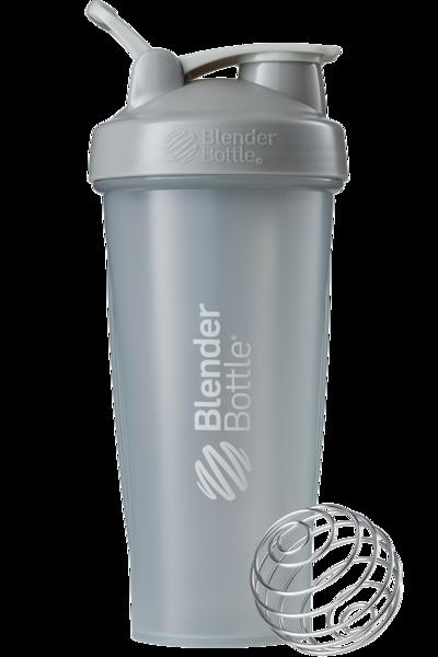 Шейкер спортивний BlenderBottle Classic Loop 28oz/820ml Grey (ORIGINAL) фото 2