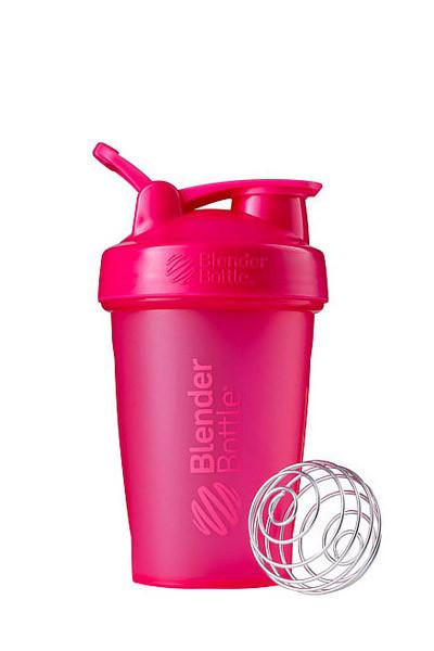 Шейкер спортивный BlenderBottle Classic Loop 20oz/590ml Pink FL (ORIGINAL) фото 1