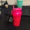 Шейкер спортивный BlenderBottle Classic Loop 20oz/590ml Pink FL (ORIGINAL) фото 2