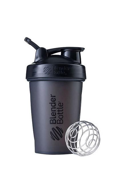 Шейкер спортивний BlenderBottle Classic Loop 20oz/590ml Black (ORIGINAL) фото 1