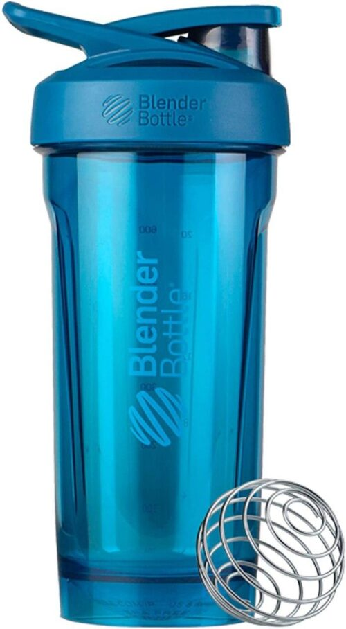 Спортивна пляшка-шейкер BlenderBottle Strada Tritan 28oz/820ml Ocean Blue (ORIGINAL) фото 1