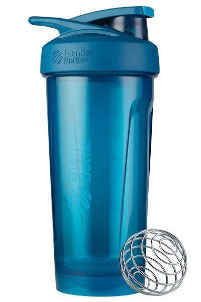 Спортивна пляшка-шейкер BlenderBottle Strada Tritan 28oz/820ml Ocean Blue (ORIGINAL) фото 3