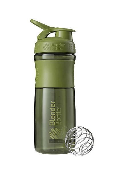 Спортивна пляшка-шейкер BlenderBottle SportMixer 28oz/820ml Moss Green (ORIGINAL) фото 1