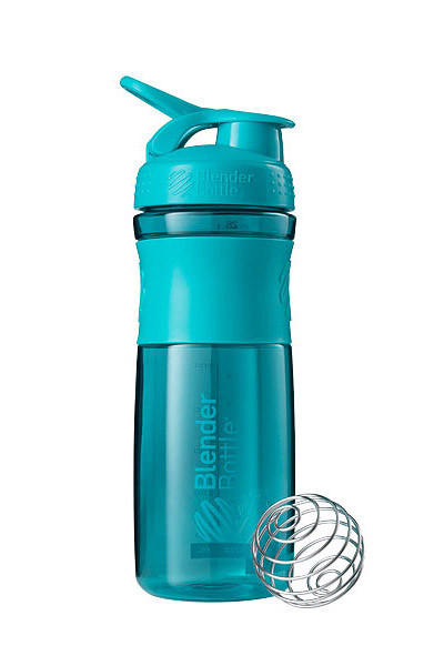 Спортивна пляшка-шейкер BlenderBottle SportMixer 28oz/820ml Teal (ORIGINAL) фото 1