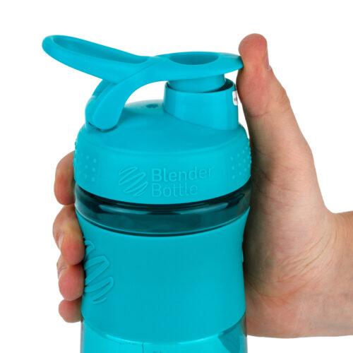 Спортивна пляшка-шейкер BlenderBottle SportMixer 28oz/820ml Teal (ORIGINAL) фото 2