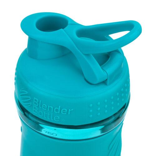 Спортивна пляшка-шейкер BlenderBottle SportMixer 28oz/820ml Teal (ORIGINAL) фото 3