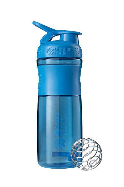 Спортивна пляшка-шейкер BlenderBottle SportMixer 28oz/820ml Cyan (ORIGINAL) фото 1