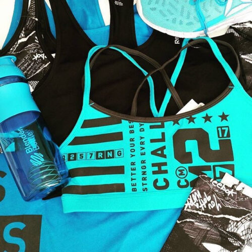 Спортивна пляшка-шейкер BlenderBottle SportMixer 28oz/820ml Cyan (ORIGINAL) фото 2