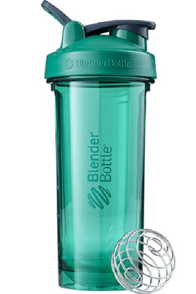 Спортивна пляшка-шейкер BlenderBottle Pro28 Tritan 820ml Green (ORIGINAL) фото 1