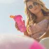 Шейкер спортивний BlenderBottle Classic Loop 28oz/820ml Special Edition Flamingo (ORIGINAL) фото 3