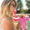 Шейкер спортивний BlenderBottle Classic Loop 28oz/820ml Special Edition Flamingo (ORIGINAL) фото 4