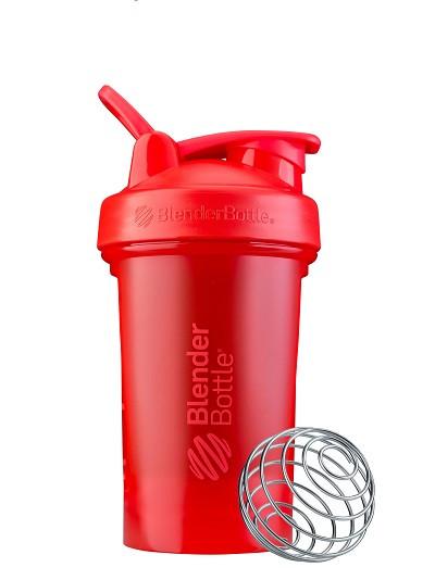Шейкер спортивный BlenderBottle Classic Loop Pro 20oz/590ml Red фото 1