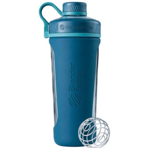 Спортивная бутылка-шейкер BlenderBottle Radian Glass 28oz/820ml Sea (Скло) (ORIGINAL) фото 1