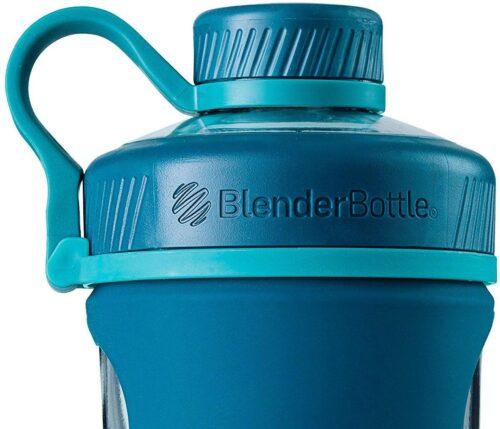 Спортивная бутылка-шейкер BlenderBottle Radian Glass 28oz/820ml Sea (Скло) (ORIGINAL) фото 2