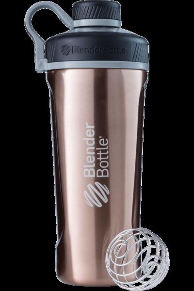 Спортивная бутылка-шейкер BlenderBottle Radian Thermo Edelstahl 26oz/770ml Copper (ORIGINAL) фото 1