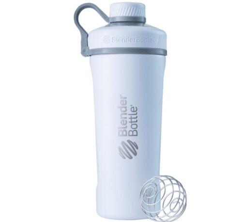 Спортивная бутылка-шейкер BlenderBottle Radian Thermo Edelstahl 26oz/770ml White (ORIGINAL) фото 1
