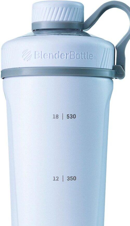Спортивная бутылка-шейкер BlenderBottle Radian Thermo Edelstahl 26oz/770ml White (ORIGINAL) фото 4