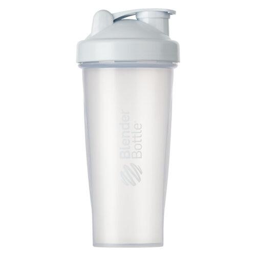 Шейкер спортивный BlenderBottle Classic 28oz/820ml Clear/White (ORIGINAL) фото 1